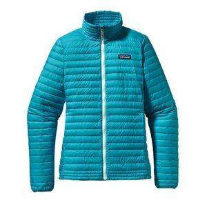 Patagonia | Blue Down Shirt Full Zip Jacket S